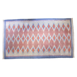 Vintage Dhurrie Carpet - 9' X 16'