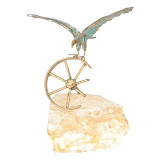 Curtis Jere Eagle Sculpture
