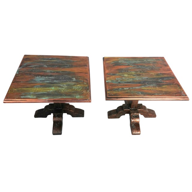 Mid-Century Side Tables - A Pair - Image 1 of 9