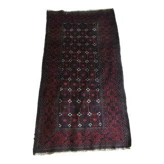 Vintage Baluch Handmade Rug - 2′11″ × 5′6″