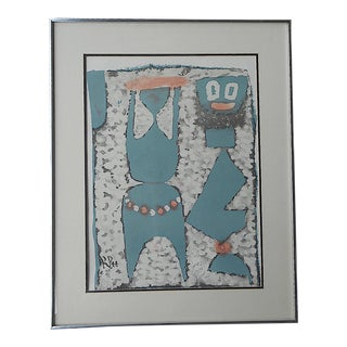 Mid 20th C. Paul Klee Lithograph