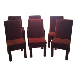1970s Vintage Thayer Coggin Dining Chairs - Set of 6