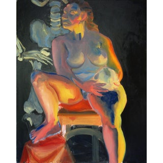 Original Female Nude Oil Painting