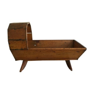 Antique Rustic Primitive Cradle