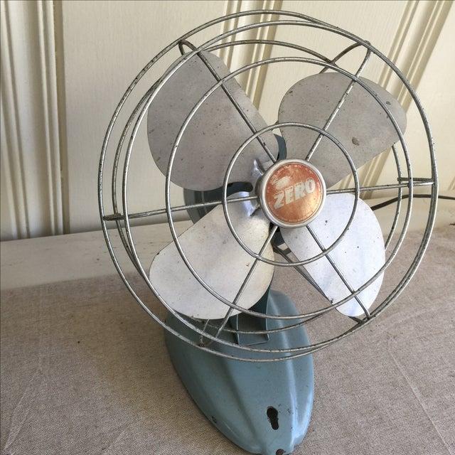 Vintage Mid-Century Oscillating Fan - Image 3 of 8