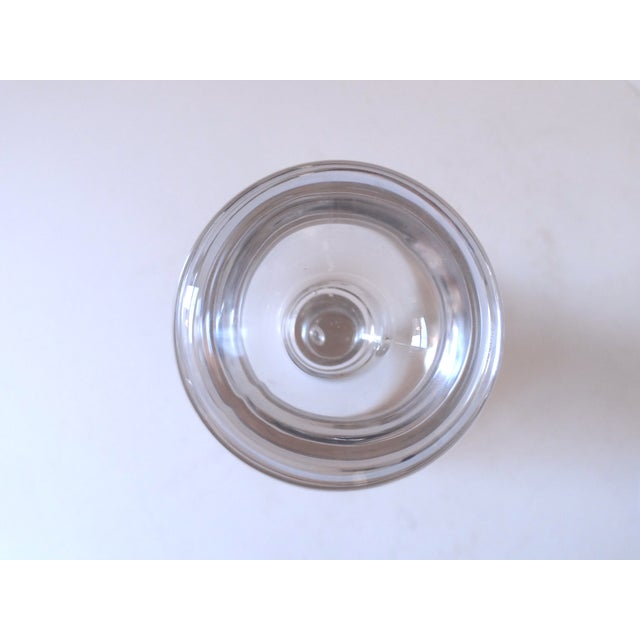 Scandinavian Glass Candle Sticks - A Pair - Image 6 of 7