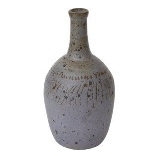 Mid-Century Modern Ceramic Bottleneck Vase
