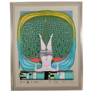 """Hommage a Schroeder-Sonnenstern"" Silkscreen by Friedrich Hundertwasser 302/4200"
