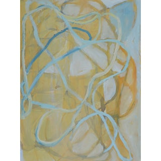 Liz Barber Leventhal Abstract Painting on Paper