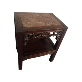 Antique Carved Asian Table