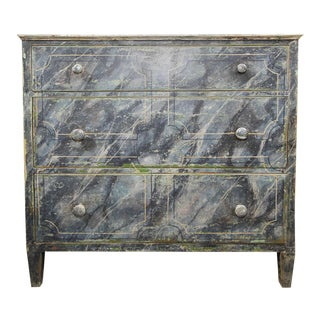 Faux Painted Chest