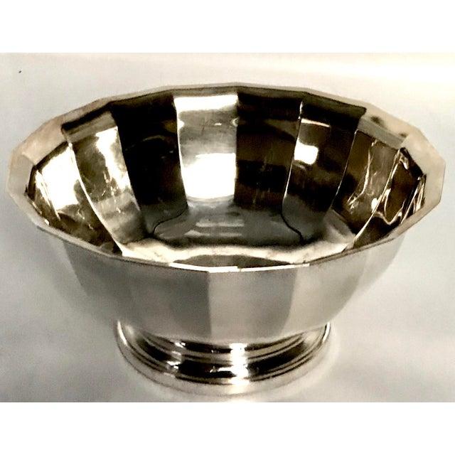 Vintage Gorham Fluted Silve Plate Bowl - Image 8 of 8