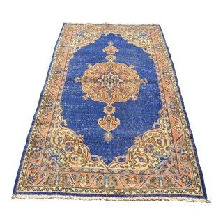 Turkish Wool Rug - 3′10″ × 6′9″