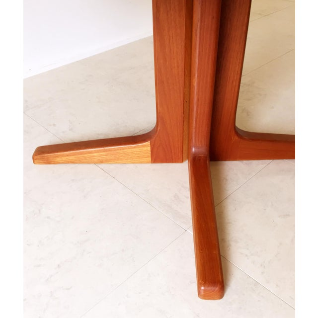 Vintage Danish Teak Extending Dining Table - Image 5 of 8