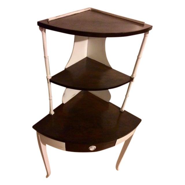 Shabby Chic Corner Shelf - Image 1 of 4