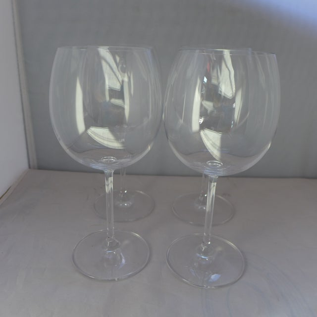 Waterford Clear Crystal Wine Glasses - Set of 4 - Image 2 of 7