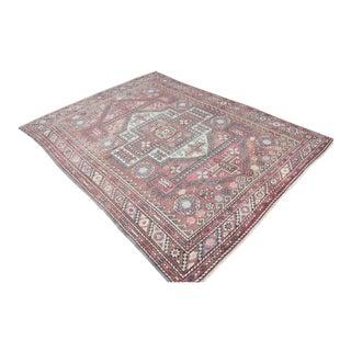 Decorative Turkish Wool Rug - 6′ × 7′11″