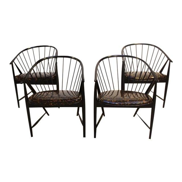 Set of Four Sonna Rosen 'Sulfjadern' Chairs - Image 1 of 8