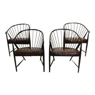 Set of Four Sonna Rosen 'Sulfjadern' Chairs