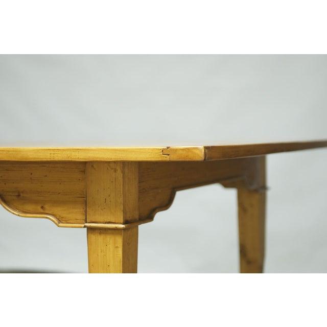 Italian Pine Farm Dining Table - Image 10 of 11