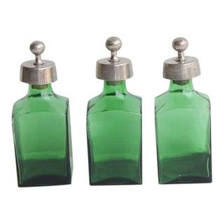 Mid Century Italian Glass Decanters