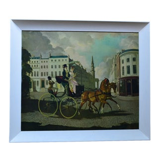 Horse and Carriage Oil Print