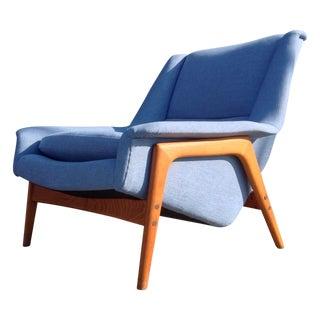 Folke Ohlsson Mid-Century Modern Lounge Chair