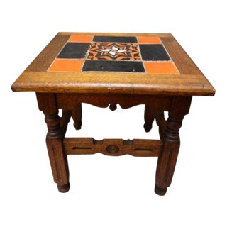 Catalina Tile Table with Island-Made Base