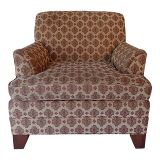 Ethan Allen Kilim Tapestry Club Chair