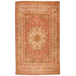 Antique 19th Century Indian Amritsar Carpet