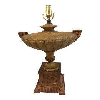 Neoclassical Urn Table Lamp