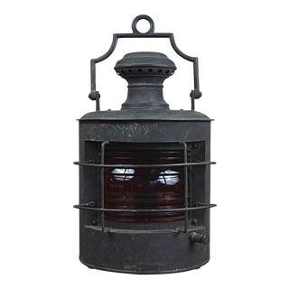 19th Century Hanging Marine Lantern
