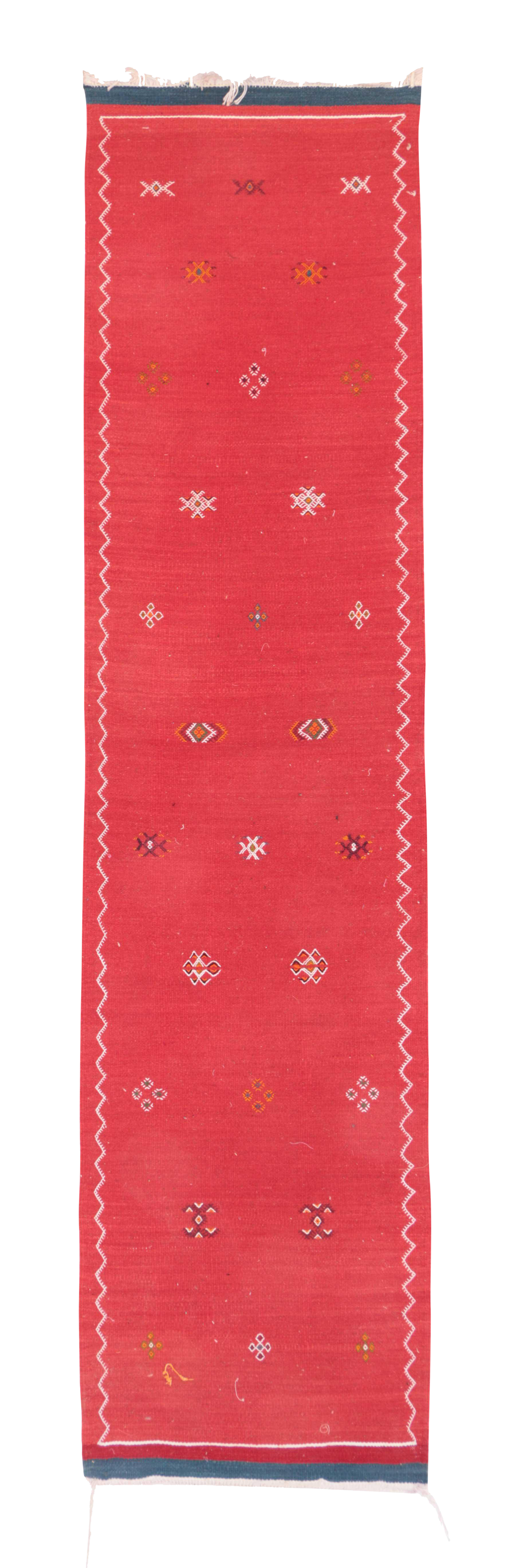 Vintage Aknif Moroccan Runner Rug - 2u0026#39;1u0026quot; x 8u0026#39;4u0026quot; : Chairish