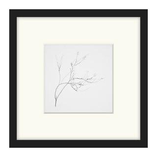 "Bryce Olsen ""Snow Shapes Study 4"" Framed Print"