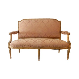 Early 20th C. French Louis XV Settee