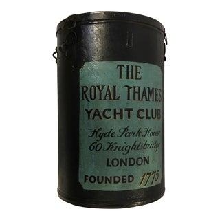 Royal Thames Yacht Club Ballot Box