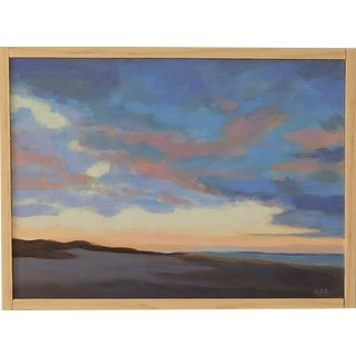 "Anne Carrozza Remick ""Sunset"" Original Painting."