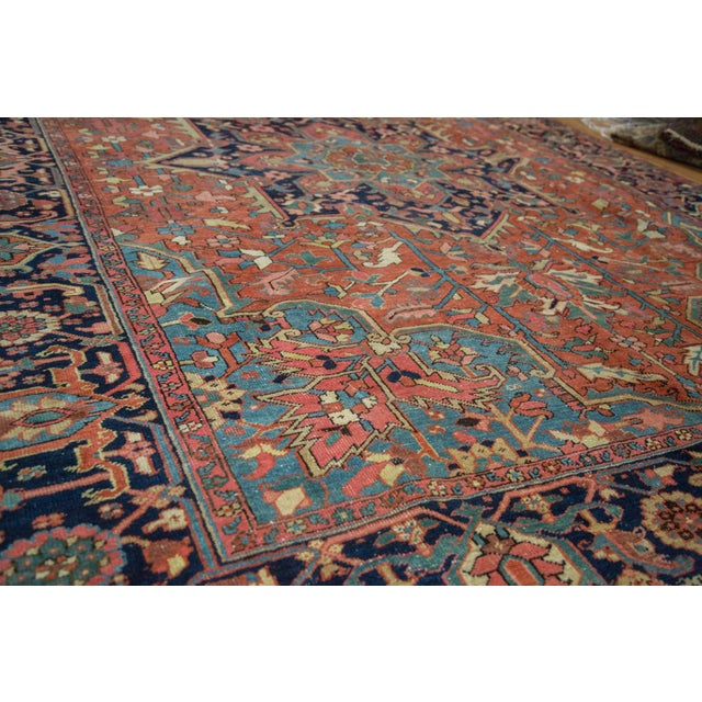 "Vintage Heriz Carpet - 9' X 11'8"" - Image 3 of 10"