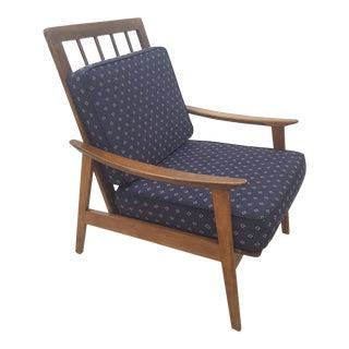 Danish Style Mid-Century Modern Armchair