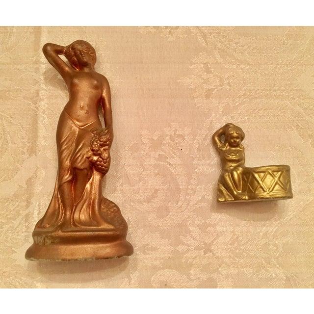 Image of Art Nouveau Porcelain Figurines - A Pair