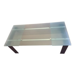 Roche Bobois Stilt Glass Dining Table