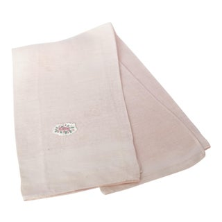 Vintage Peach Cotton Guest Towel
