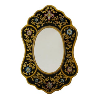 Hand-Painted Accent Mirror