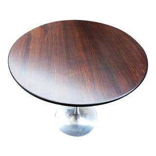 Vintage Knoll Saarinen 30 Inch Rosewood Cafe Table