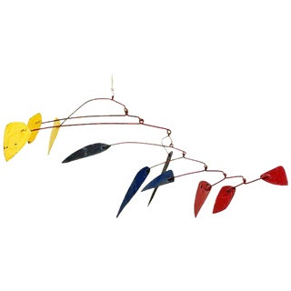 Mid-Century Modern Style Mobile Hanging Sculpture