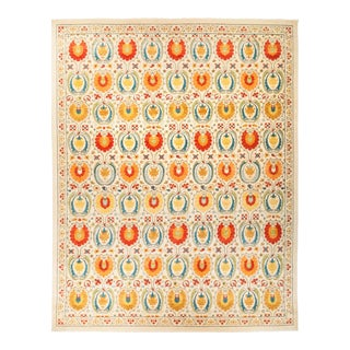"""Suzani Hand Knotted Area Rug - 12' 2"""" X 15' 2"""""""