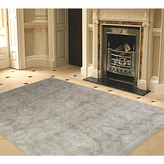"""Pasargad Transitional Collection Rug - 8' X 10'2"""" - Image 2 of 2"""