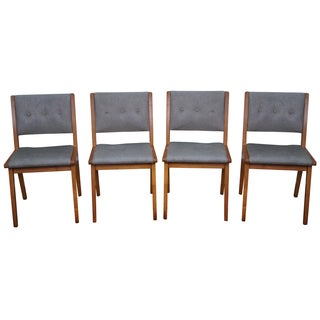 Jens Risom Mid-Century Dining Chairs - Set of 4