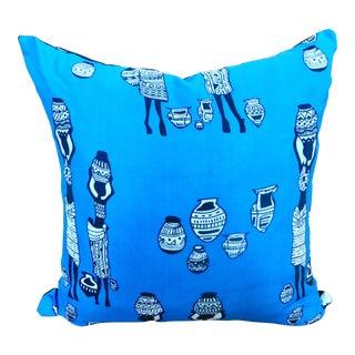 African Print Bohemian Pillow
