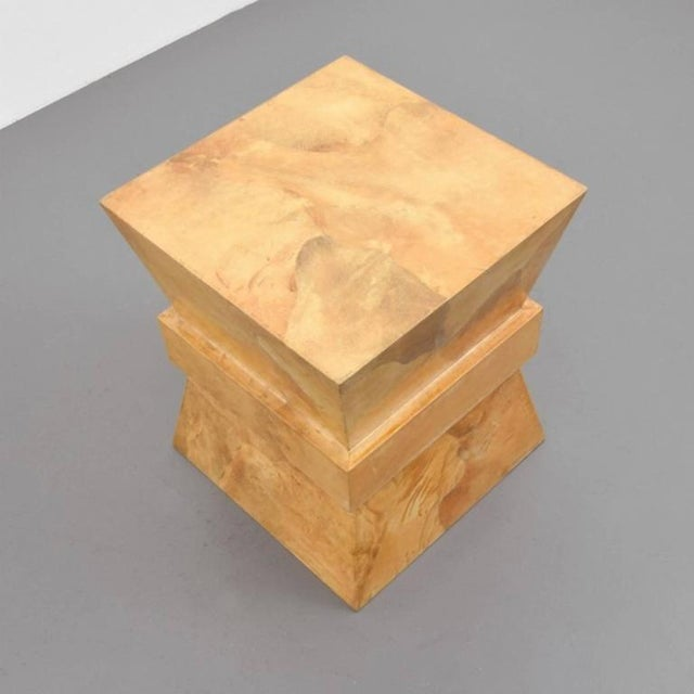Occasional Table Attributed to Karl Springer - Image 4 of 4